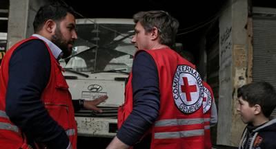 Красный Крест отправил в Донбасс гуманитарную помощь