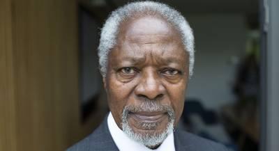 Тело Кофи Аннана доставили в Гану