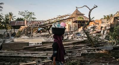 Землетрясение произошло у побережья Индонезии