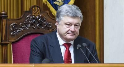 Порошенко объявил о «падении Третьего Рима России»