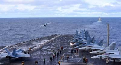 ВМС США начали боевую операцию в Средиземном море