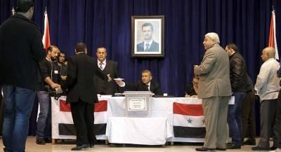 Башар Асад провёл выборы среди госслужащих