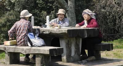ВЯпонии назвали процент пожилых людей