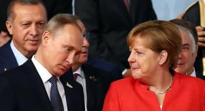 Меркель обсудила Идлиб с Эрдоганом и Путиным