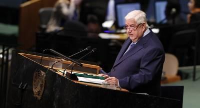 Дамаск намерен очистить Сирию от иностранного присутствия