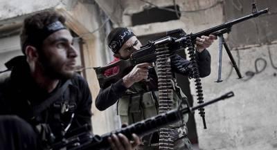 В сирийском госпитале боевиков нашли иностранные лекарства