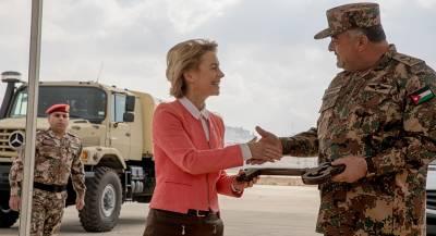 Войска ФРГ могут остаться на Ближнем Востоке