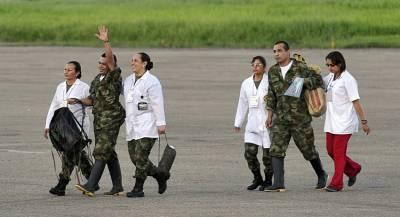 В Колумбии освободили пленных солдат