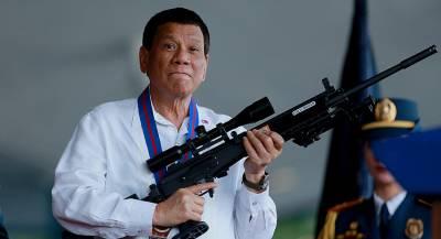 Президент Филиппин признался в убийствах