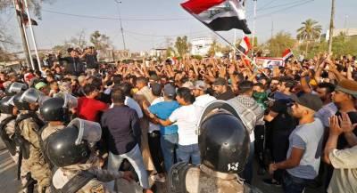 В Басре появились первые жертвы массовых беспорядков