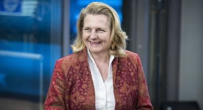 Глава МИД Австрии выступила на четырех языках в ООН