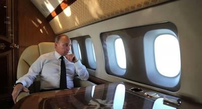 Путин прилетел в Баку