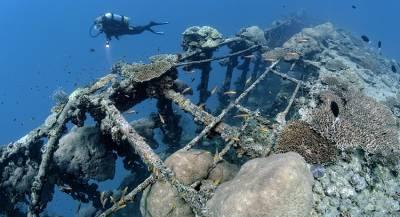 В Жёлтом море нашли затонувший китайский крейсер