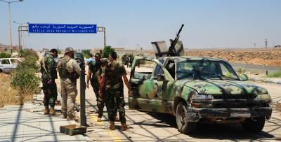 КПП «Насиб» на сирийско-иорданской границе открылся