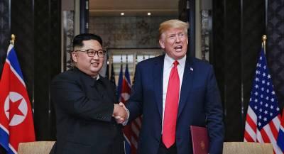 Трамп поведал об отношениях с Ким Чен Ыном