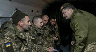 Порошенко потребовал МО перейти на стандарты НАТО