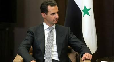 Башар Асад отправил Путину телеграмму после крушения Ил-20