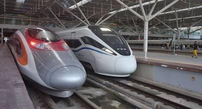 В Китае запустили скоростной поезд до Гонконга