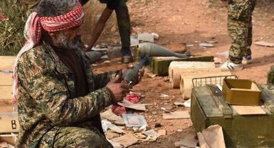 В Сирии обнаружены склады боевиков с западным оружием