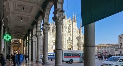 В Италии туристка ранила прохожего дроном
