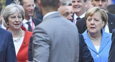 ФРГ отвергает идею Мэй по режиму свободной торговли с ЕС