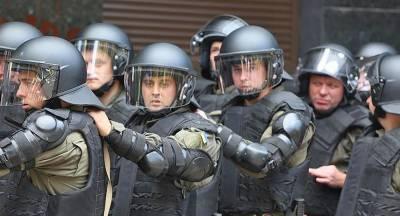 В Киеве произошли столкновения протестующих с полицией
