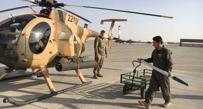 Талибы взяли ответственность за крушение вертолёта