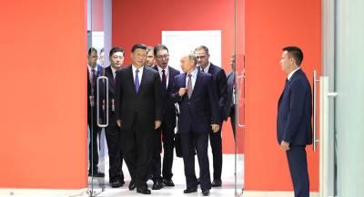 Путин и Си Цзиньпин съели блинов под водку