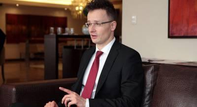 Глава венгерского МИДа пополнил базу «Миротворца»