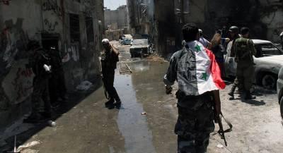 Сирийский военнослужащий погиб при обстреле Алеппо