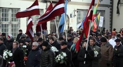 В установке памятника солдатам СС участвовали 300 эстонцев
