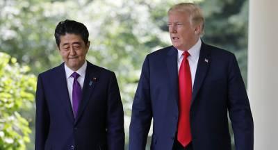 Трамп озвучил темы переговоров с Абэ