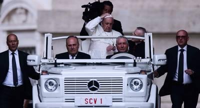Папа Римский прибыл с визитом в Вильнюс
