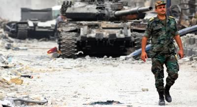 У террористов в САР нашли швейцарские гранаты