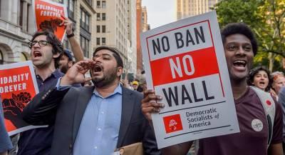Google пытался противостоять указу Трампа о мигрантах