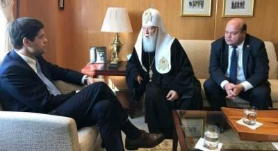 Глава Украинской церкви побывал в Госдепе США