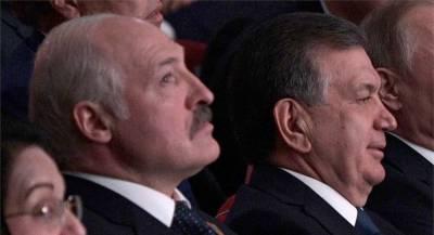Лукашенко иМирзиёев встретятся вТашкенте