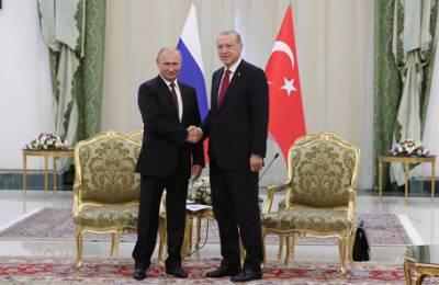 Внезапная встреча Путина и Эрдогана