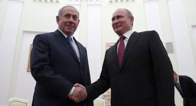 Нетаньяху и Путин договорились о встрече военных