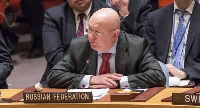 Небензя назвал санкции против Сирии «порочной практикой»