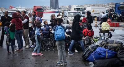 В греческом лагере мигрантов погиб человек