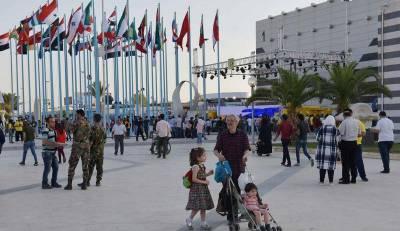 В Дамаске для ярмарки открыли железную дорогу