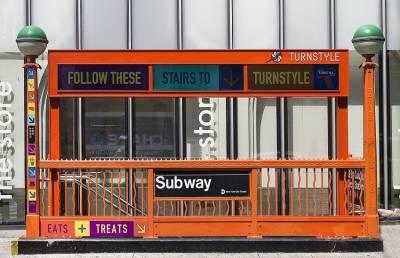 В Нью-Йорке обрушилась станция метро