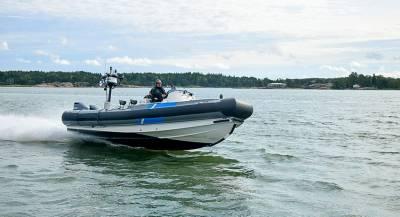Парусник из РФ нарушил границу Финляндии