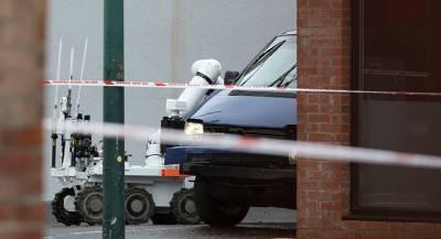 Робот подорвал машину в Лондоне