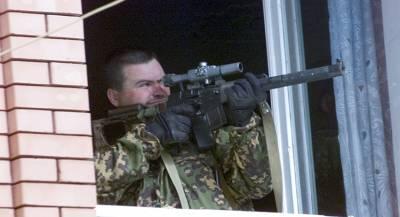 В Донбассе активизировались снайперы ВСУ