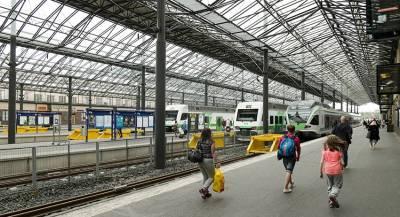 В Финляндии застряли следующие в Россию поезда