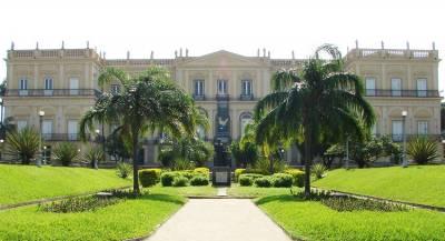 ВБразилии сгорел старейший музей