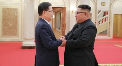 Президент Южной Кореи Мун Чжэ Ин прибыл в Пхеньян