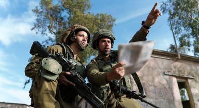 Израильские военные захватили палестинских атлетов